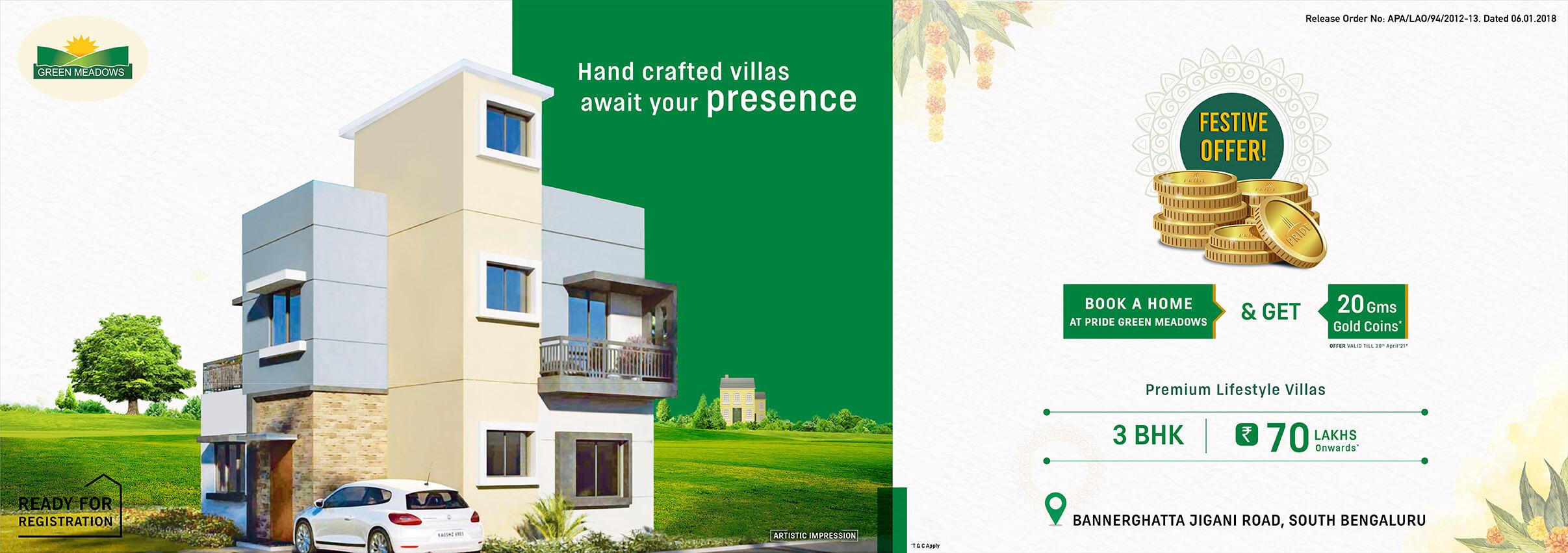 Green Medaows villa Apr 21