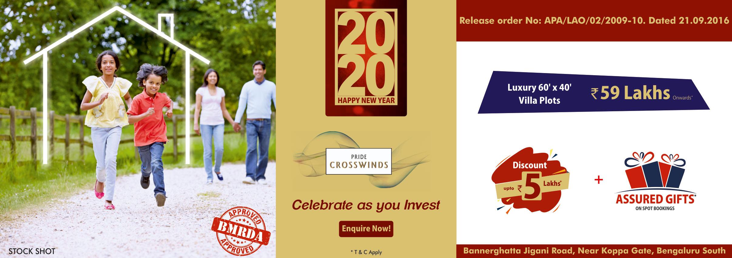 Crosswinds Villa Plots - jan2020
