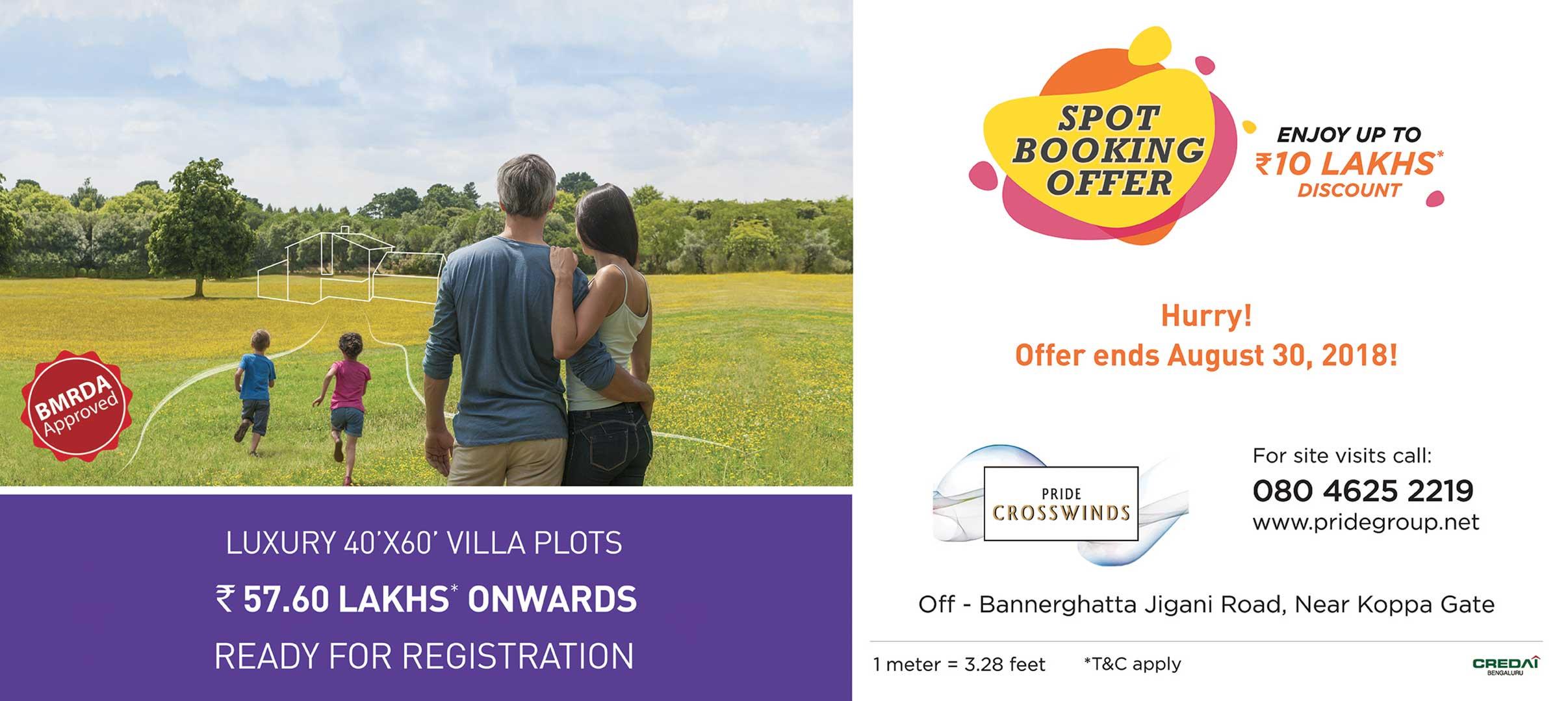 Crosswinds Villa Plots