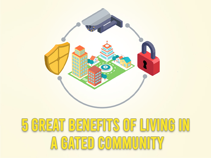 5 great benefits of Living in a gated community