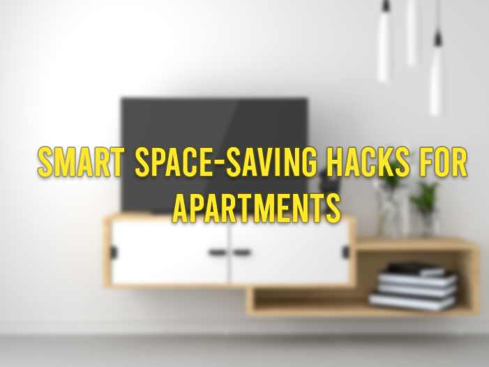 Smart Space-saving Hacks for apartments