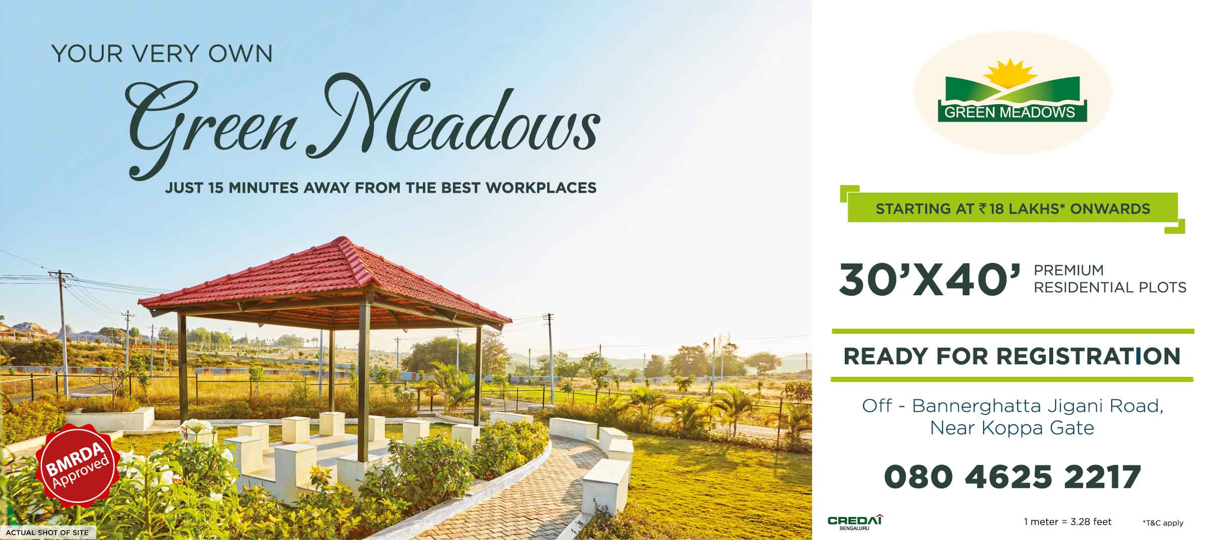 GREEN MEADOWS NEW